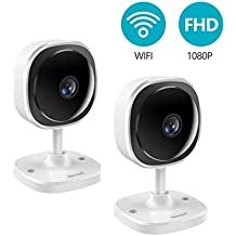 [1080P] Security Camera, NexTrend 180 Degree Panoramic Wireless WiFi IP Camera with Motion Detection,Two-Way Audio,Free App,Cloud/TF Card Storage,Indoor Home Surveillance for Baby/Elder/Pet Monitor