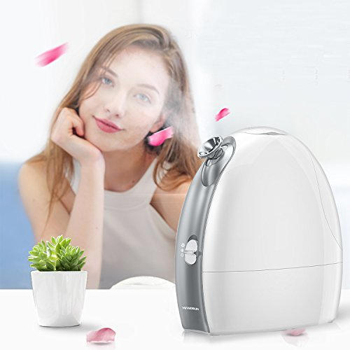 Price comparison product image Hangsun Face Steamer Professional Cool and Hot Facial Mist Sprayer FS260 Nano-ionic Sauna Home Spa Humidifier Personal Skin Care with Aromatherapy Diffuser for Pores Acne Blackheads