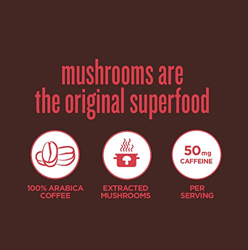 Four Sigmatic Mushroom Coffee Mix Pack of 2 - Lion's Mane and Chaga & Cordyceps and Chaga by Four Sigmatic (Image #7)