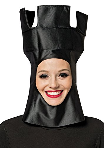 Costume Rook Chess (UHC Chess Rook Hat Headpiece Funny Theme Party Halloween Costume)