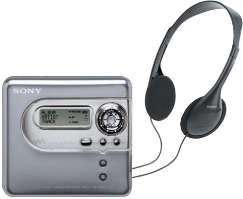 Sony MZ-NH600D Hi-MD MiniDisc Walkman by Sony