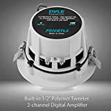 """Pyle 4"""" Pair of Bluetooth Flush Mount In-wall"""