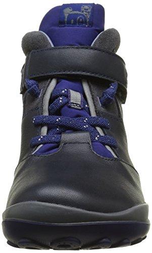 CAMPER Jungen Peu Pista Kids Hohe Sneakers Blau (Dark Blue 002)