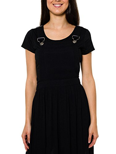 Smash Selvae, Vestido Casual para Mujer Negro (Black)