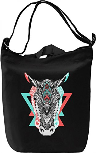 Donkey Borsa Giornaliera Canvas Canvas Day Bag| 100% Premium Cotton Canvas| DTG Printing|