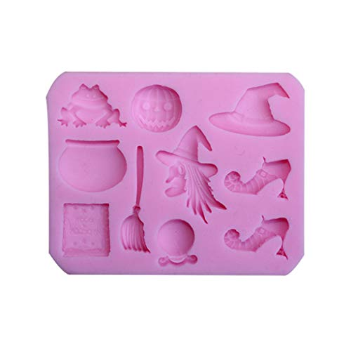 Halloween Baking Supplies Nz (Halloween Pumpkin Silicone Mold DIY Chocolate Cake Candy Cookies Fondant Mould Kitchen Baking)