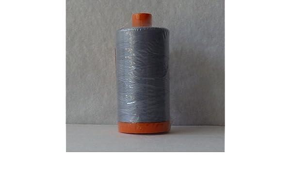 Bark Brown A1050-1140 Aurifil 50wt Mako Cotton Thread 1,422 yards