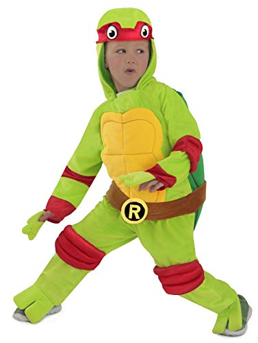 Princess Paradise Baby's Teenage Mutant Ninja Turtles Costume Jumpsuit, Raphael, 12-18 Months]()