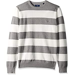 GANT Men's The Cotton Pique Stripe Sweater