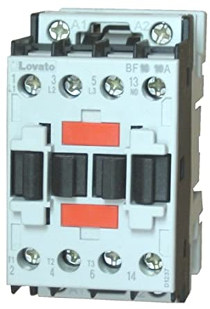 Lovato BF0910A23060 3 Pole Contactor 9 AMP 5 HP 460 Volt Phase