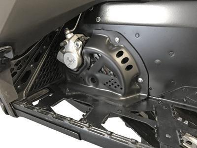 (Skinz Protective Gear SDBBC450-BK Billet Brake Rotor Cover - Black)