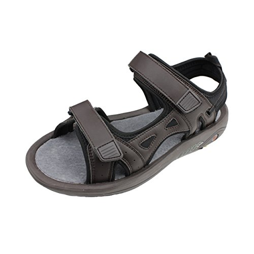 Mens Golf Sandal - Oregon Mudders Mens MCS400 Golf Sandal with Spike Sole 11M US Mens Brown