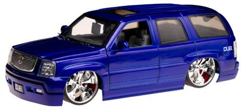 - Cadillac Escalade Dub City Big Ballers 1:18 Diecast Model Vehicle - Blue