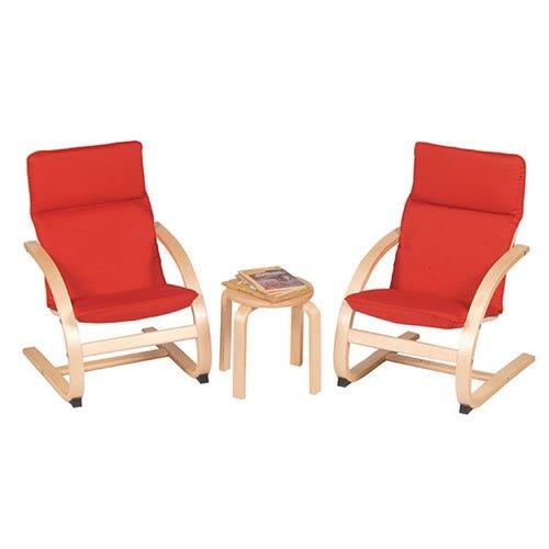 Kiddie Rockers Chair Set (Kiddie Blue Rocker Set)