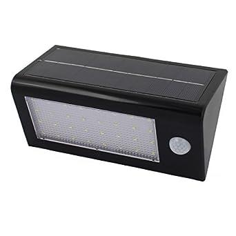 eDealMax solares Luces Super Brillante LED de iluminación 20 Movimiento Para exteriores la seguridad del Sensor