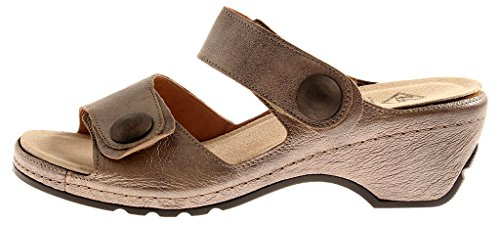 Leather leather Slippers M54106 Sabbia Mules Clogs Theresia M qvaxp66H