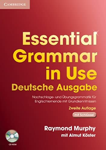 essential grammar in use german edition with answers and cd rom rh amazon co uk