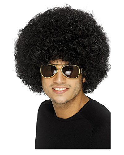 (Partyrama Men's 70S Funky Afro Wig One Size)