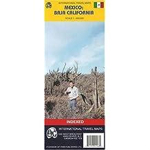Mexico's Baja California Map by ITMB (International Travel Regional Maps: Baja California)