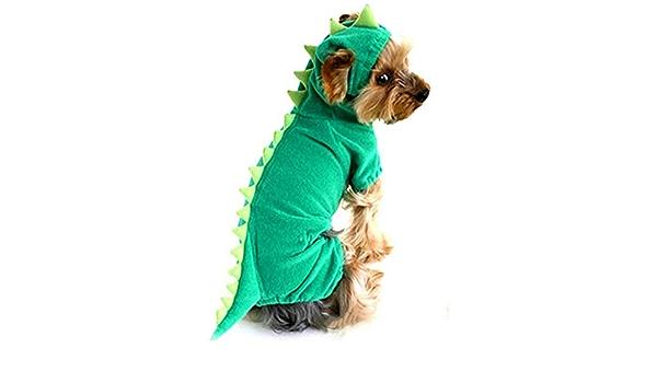 Aikesi abrigo con capucha para perro de invierno estilo oso Vestido para perros con cuatro patas de terciopelo apto para todos los perros peque/ños
