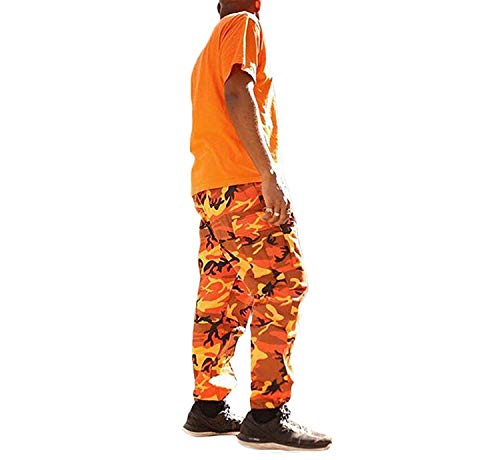 Tasca Multi Vintage Da Cotone Uomo Baggy Di Tattici Streetwear Hulday Sportivi Moda Grigio Semplice Donna Cargo Mimetici Pantaloni Stile XiuPZOk