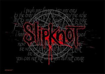 Slipknot Duality 30X40 Cloth Textile Fabric Poster Flag Fabric Poster Print, 40x30