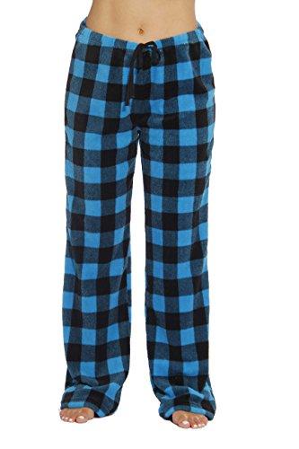 Just Love 6286-TRQ-L Women's Plush Pajama Pants - Petite to Plus Size Pajamas