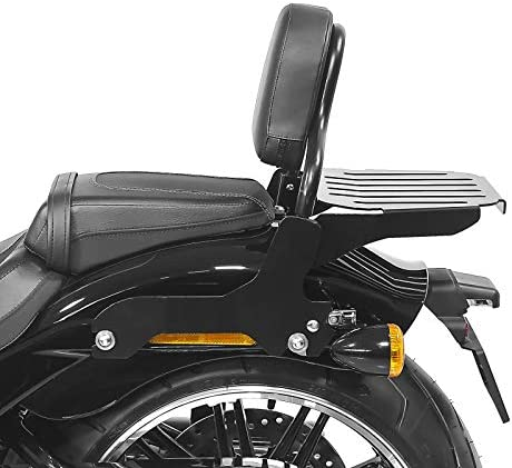 Craftride Sissy bar with luggage rack for Harley Davidson Breakout 114 18-20 black CSS