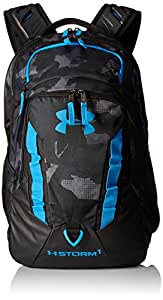 Under Armour Storm Recruit Backpack, Black/Stealth Gray, One Size