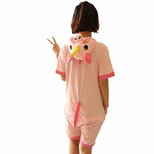 En Et Jysport Capuche Pyjama Summer Pour Unicorn Femme Enfant Polaire Homme Pink Unisexe À AZ11xUwq