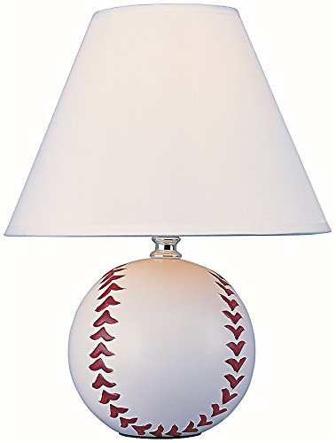 park madison lighting pma1125 ceramic baseball lamp 9 - Baseball Lamp