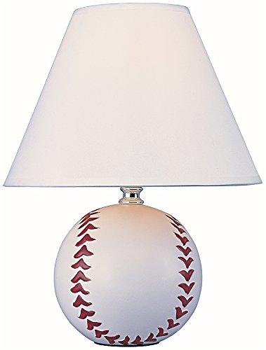 Park Madison Lighting PMA1125 Ceramic Baseball Lamp, ()