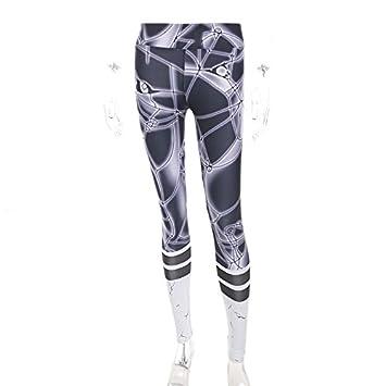 Xuanytp Pantalones de Yoga Impresión Entrenamiento Mujeres ...