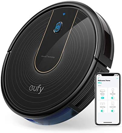 eufy BoostIQ RoboVac 15C, Wi-Fi, Upgraded, Super-Thin, 1300Pa Strong Suction Quiet, Self-Charging Robotic Vacuum Cleaner, Cleans Hard Floors to Medium-Pile Carpets
