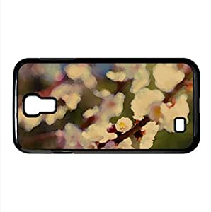 Plum Tree Watercolor style Cover Samsung Galaxy S4 I9500 Case (Spring Watercolor style Cover Samsung Galaxy S4 I9500 Case)