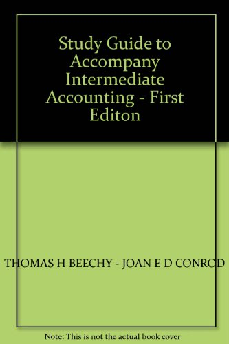 Study Guide Intermediate Accounting, Volume 2: Chapters 15 ...