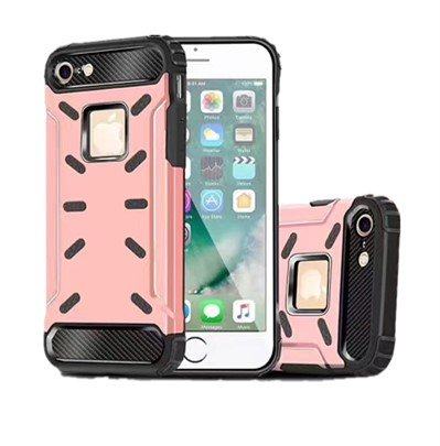 IBose Beast Shockproof Dustproof Waterproof Aluminum Alloy Metal Cover Case For Apple iPhone 6 4.7 inch Protection Case (Gold Rose)