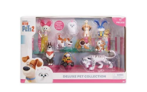 Secret Life of Pets 2 Deluxe Collection 10 Pack from Secret Life 2