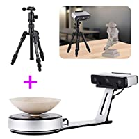 EinScan-SP White Light Desktop 3D Scanner, 0.05 mm Accuracy, 4s Scan Speed, 1200mm Cubic Max Scan Volume, Fixed/Auto Scan Mode, Compelete Upgrade from EinScan-SE Desktop 3D Scanner by EinScan