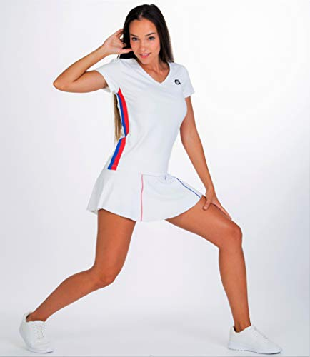 Tenis Style Paddle shirt T Sport Crash Mujer y A40grados 8xBw4q5x