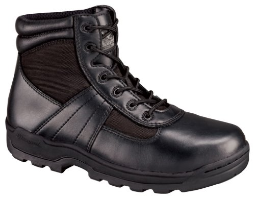 UPC 014799697907, Men's Thorogood 6 inch Lace - Up Boots, BLACK, 15W