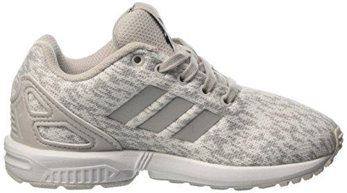 adidas Unisex-Kinder ZX Flux C Gymnastikschuhe Grau (Grey One F17/grey One F17/ftwr White)
