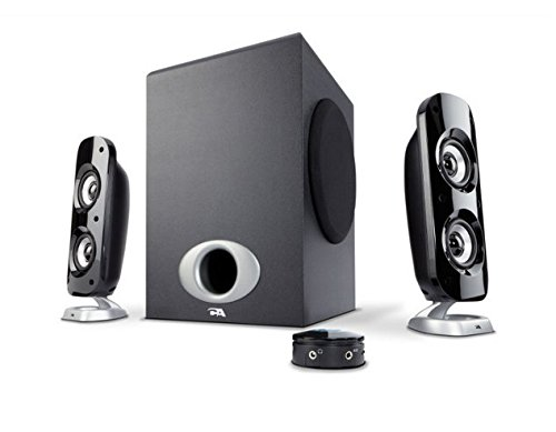 76W Computer Speakers with Subwoofer, a Powerful 2.1 Multimedia Speakers for Gaming, Music, and Movies - By Cyber