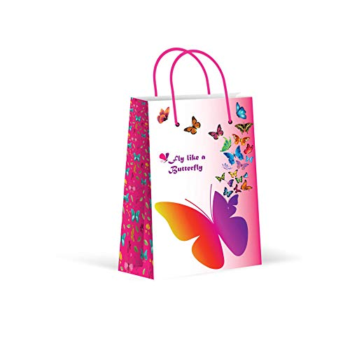 (Premium Butterfly Party Bags, Party Favor Bags, New, Treat Bags, Gift Bags, Goody Bags, Party Favors, Party Supplies, Decorations, 12)