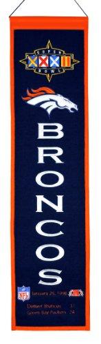 (NFL Denver Broncos Super Bowl XXXII Banner)