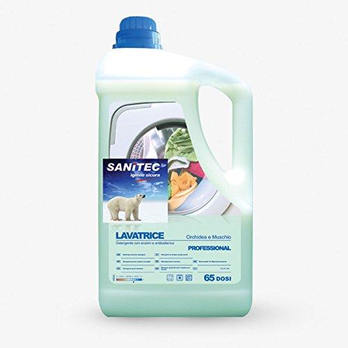 Detergente de lavadora sanitec con orquídeas y almizcle blanco ...