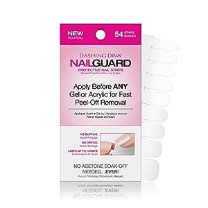 Dashing diva nail guard protective strips 54 ct beauty - Diva nails and beauty ...