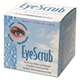Eye Scrub Sterile Eye Makeup Remover & Eyelid Cleansing Pads 30 Ea (Pack of 12) - (Total of 360 Pads)