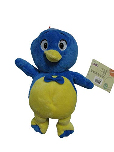 "Backyardigans Pablo Rattle 12"" Plush"