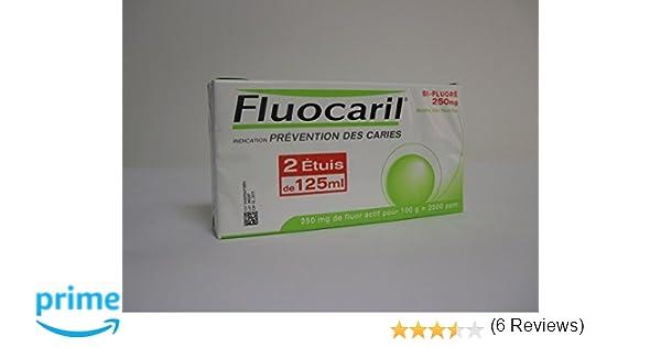 Fluocaril bifluor duplo past2x125+regalo: Amazon.es: Salud y cuidado personal